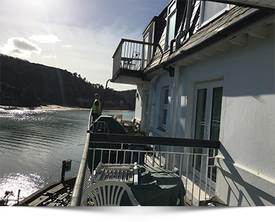 fine shine gutter cleaning salcombe