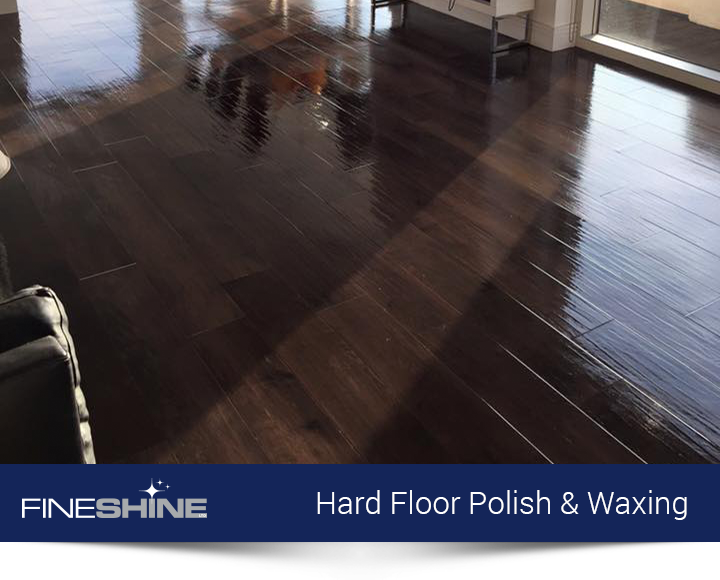 Hard Floor Polish & Waxing