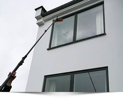 fine shine external window cleaning
